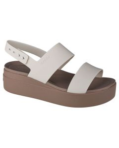 damskie Crocs Brooklyn Low Wedge 206453-159 001