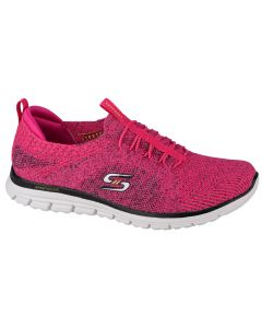 damskie Skechers Luminate-She's Magnificent 104075-HPBK 001