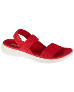 damskie Skechers On The Go 600 Girls Trip 140026-RED 001