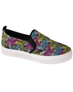damskie Skechers Poppy-Pop Art Animals 155077-BKMT 001